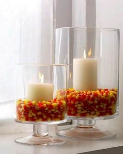 Mystical Halloween Lighting Ideas with Spellbinding candle and light string effect Part 65