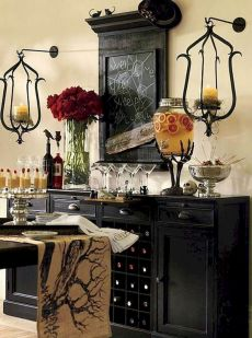 Mystical Halloween Lighting Ideas with Spellbinding candle and light string effect Part 7