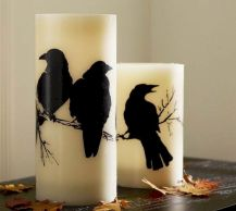 Mystical Halloween Lighting Ideas with Spellbinding candle and light string effect Part 75