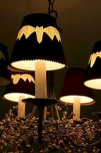 Mystical Halloween Lighting Ideas with Spellbinding candle and light string effect Part 9