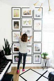 Simple image and Arrangement Tips to Make your Own Gallery Wall Ideas Part 27