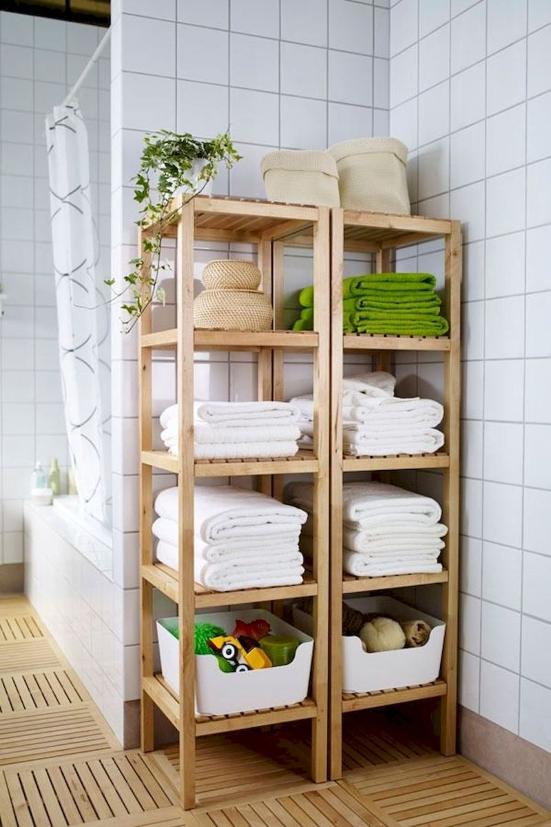 60+ Easy and Effective Small Bathroom Organization Ideas