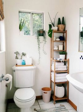 Small bathroom organization Ideas that will add more spaces during relaxation Part 34
