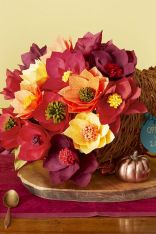 Thanksgiving Celebration Dining Table Centerpieces Idea Part 19