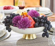 Thanksgiving Celebration Dining Table Centerpieces Idea Part 28