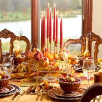 Thanksgiving Celebration Dining Table Centerpieces Idea Part 3