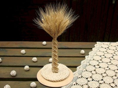 Thanksgiving Celebration Dining Table Centerpieces Idea Part 37