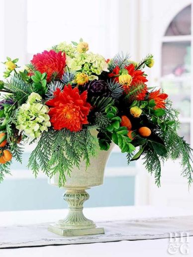 Thanksgiving Celebration Dining Table Centerpieces Idea Part 50