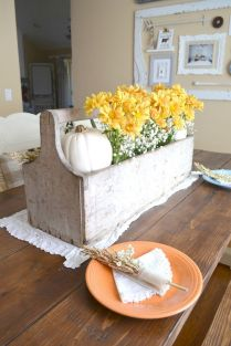 Thanksgiving Celebration Dining Table Centerpieces Idea Part 9
