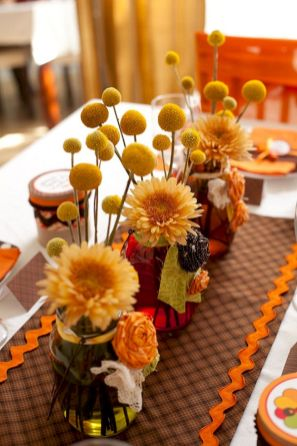 Thanksgiving Floral Arrangement Ideas and Autumn Flowers Decoration Best Used for Thanksgiving centerpiece and Decorations Part 26