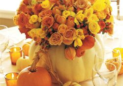 Thanksgiving Floral Arrangement Ideas and Autumn Flowers Decoration Best Used for Thanksgiving centerpiece and Decorations Part 48