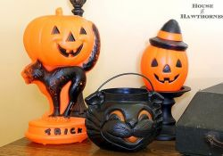 Vintage Halloween Decoration Idea and scary retro hallowen idea Part 34
