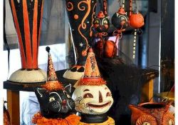 Vintage Halloween Decoration Idea and scary retro hallowen idea Part 4
