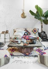 Artsy Bohemian Home with Colorful Decorating Concept Part 11