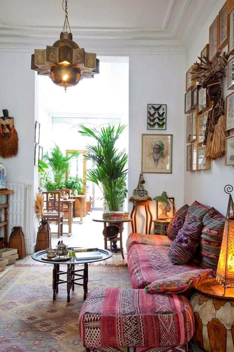 Artsy Bohemian Home with Colorful Decorating Concept Part 2