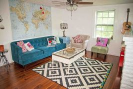 Bohemian Home Decor with Brilliant Features Part 19