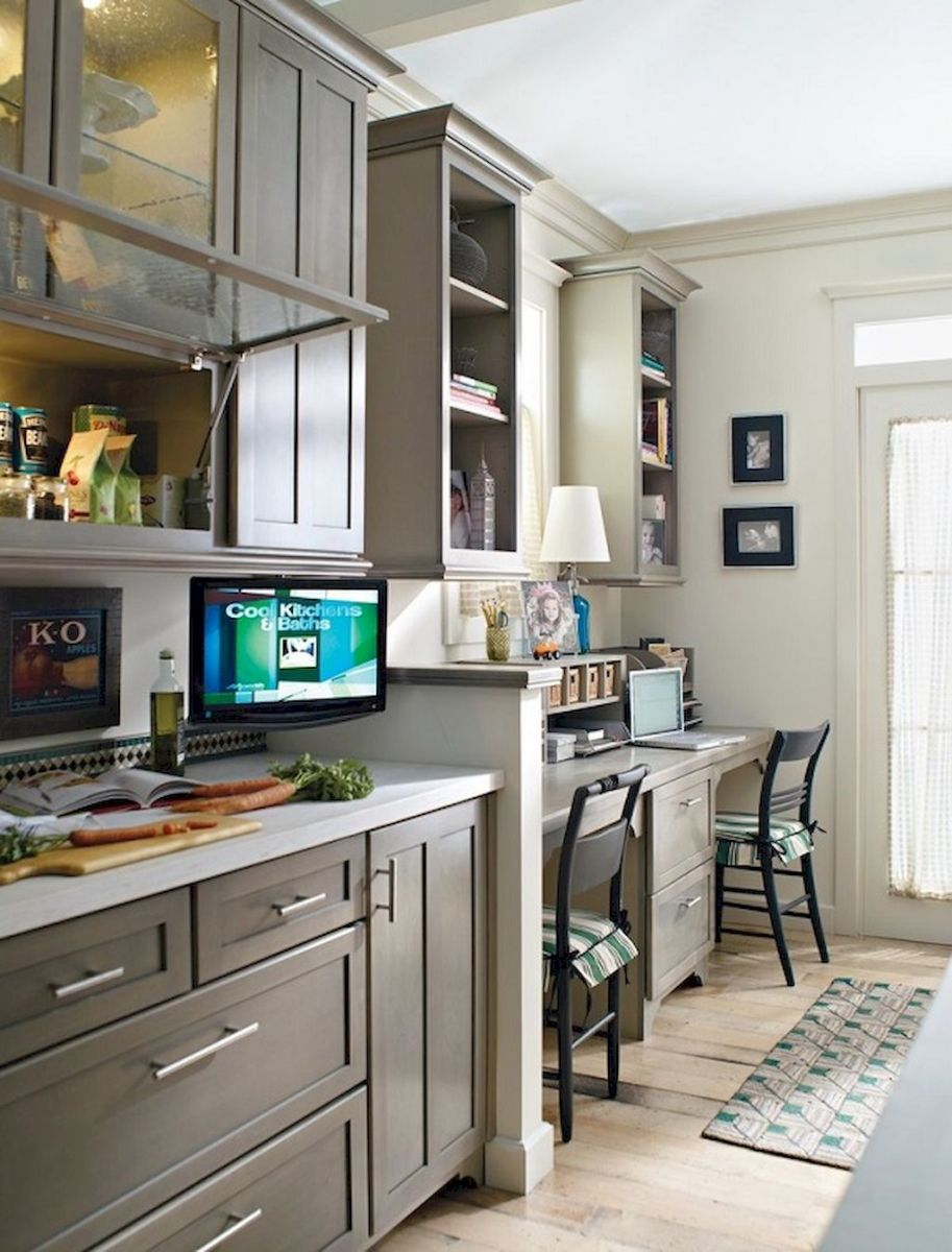 Brilliant Home Office Concept Marrying Farmhouse Design with Modern Touch Part 5