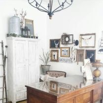 Farmhouse Home Office Decoration Ideas Part 27