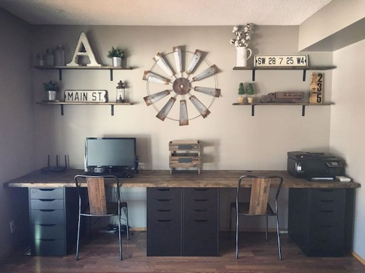 Farmhouse Home Office Design Part 37