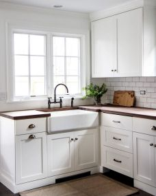 Farmhouse Kitchen Sink Ideas for Large Kitchen Part 13