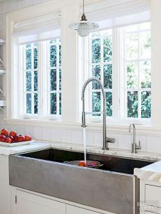 Farmhouse Kitchen Sink Ideas for Large Kitchen Part 18