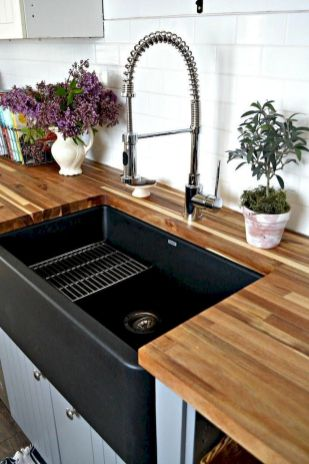 Inspiring Farmhouse Kitchen Sink for New Kitchen and Remodel Part 25