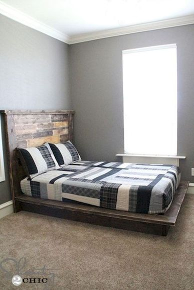 Platform Bed Ideas in Modern Design with Multi Functions Part 18