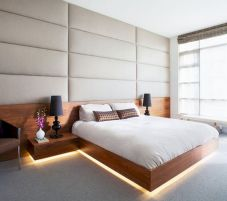 Platform Bed Ideas in Modern Design with Multi Functions Part 21