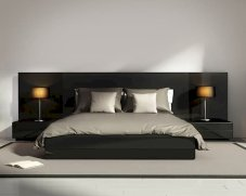 Platform Bed Ideas in Modern Design with Multi Functions Part 22