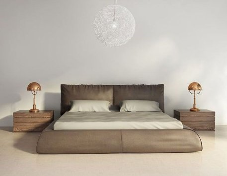 Platform Bed Ideas in Modern Design with Multi Functions Part 23