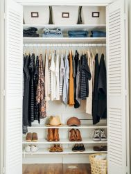 Small Closet Organization Trick to Space Up Your Storage Part 14