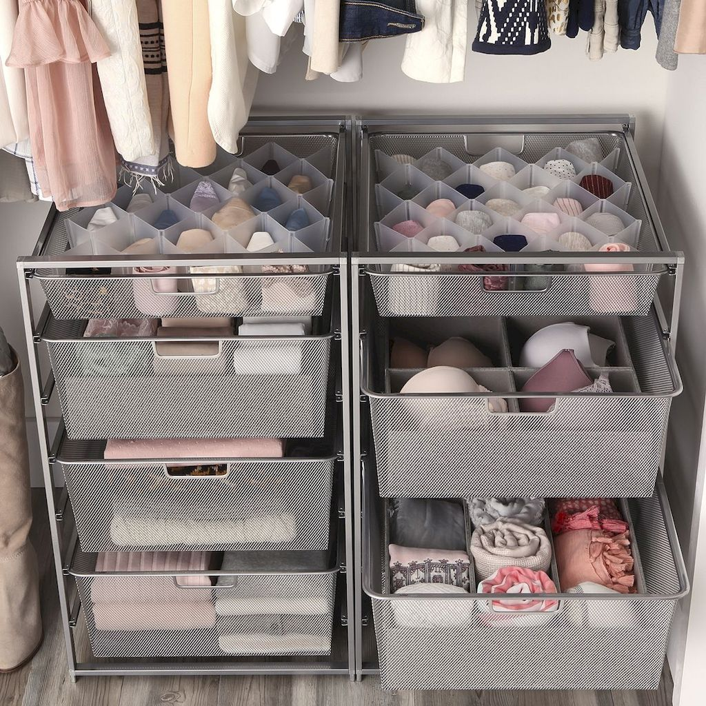 Small Closet Organization Trick to Space Up Your Storage Part 21