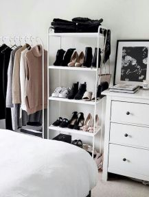 Small Closet Organization Trick to Space Up Your Storage Part 28