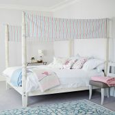 White Bedroom Decorating Ideas with Beautiful Accent Part 38