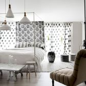 White Bedroom Decorating Ideas with Beautiful Accent Part 39