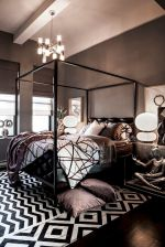 Artistic Bedroom Rug Patterns with Rich Tribal Ornament Part 4