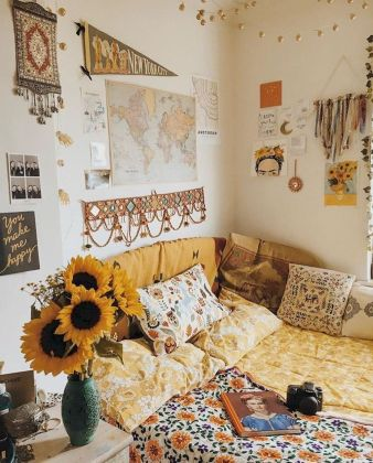 Beautiful Bed Sheet Designs With Tribal Pattern Liven Up Bedroom Looks Part 26