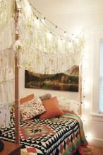 Beautiful Bed Sheet Designs With Tribal Pattern Liven Up Bedroom Looks Part 27