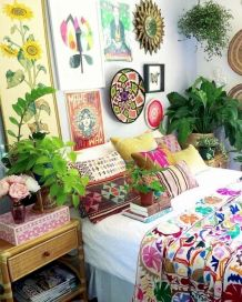 Beautiful Bed Sheet Designs With Tribal Pattern Liven Up Bedroom Looks Part 7
