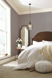 Beautiful Bedroom Designs in Darker Color Combination to Create Deeper Mood Effect Part 22