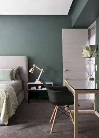 Bedroom Color Trend with Bold Colors and Brave Statements Part 30