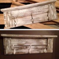 Cheap Wall Decor Made from Scrap Wood Pallets Part 2