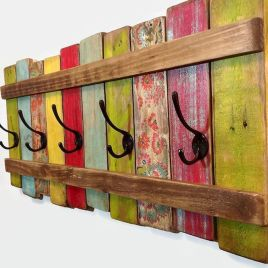 DIY scrap Wood Ideas for Wall Decoration Part 32