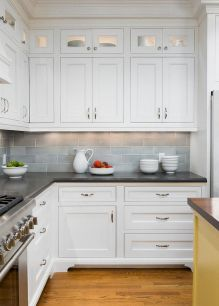 Effective Neutral Colors For Beautiful White Kitchen Concept Part 18