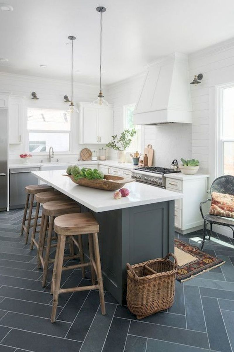 Effective Neutral Colors For Beautiful White Kitchen Concept Part 19