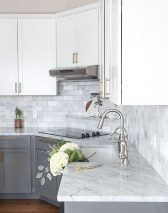Effective Neutral Colors For Beautiful White Kitchen Concept Part 22
