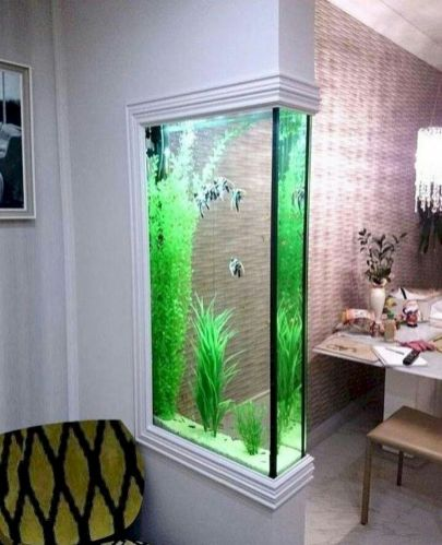Exotic Wall Mounted Aquarium Giving Better Mood Everyday Part 44