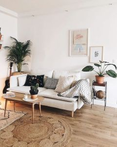 Lively Living Room Vibe with Indoor Plant Decoration Part 22