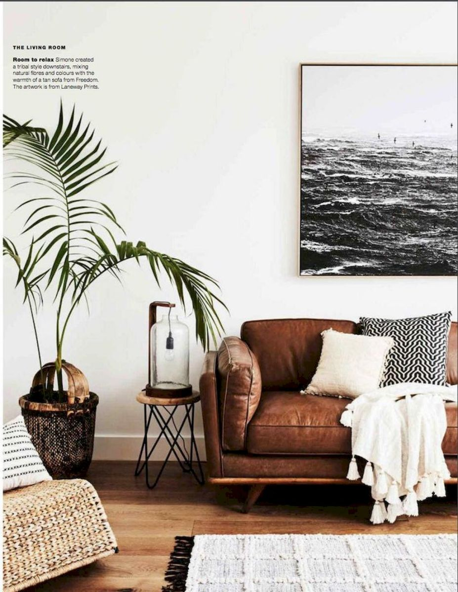 Lively Living Room Vibe with Indoor Plant Decoration Part 26