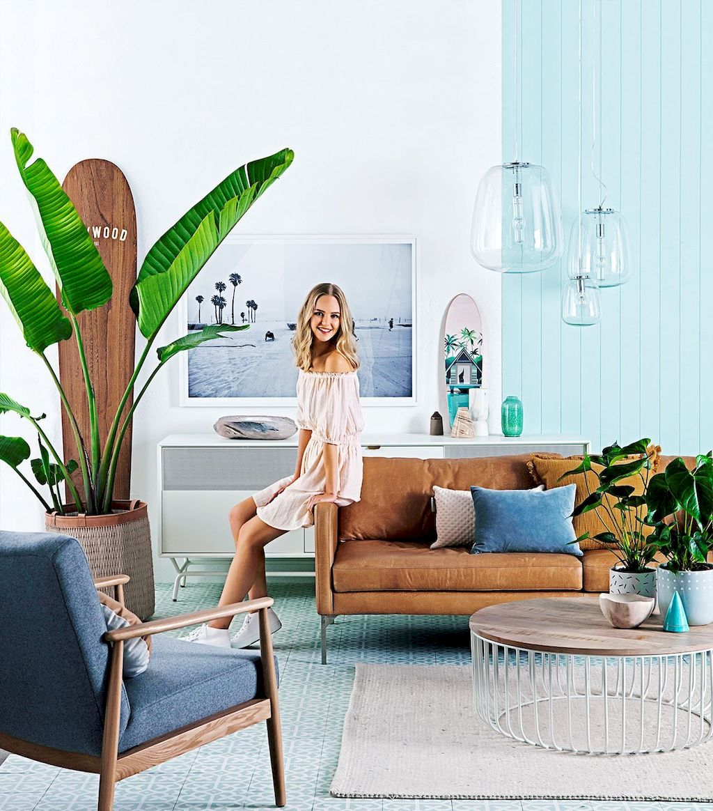 Lively Living Room Vibe with Indoor Plant Decoration Part 29